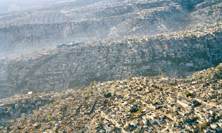 Vista de la Ciudad de México, 20 millones de habitantes