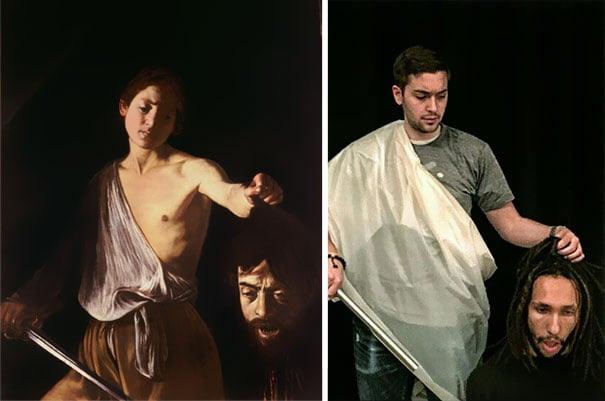 david y la cabeza de goliath caravaggio