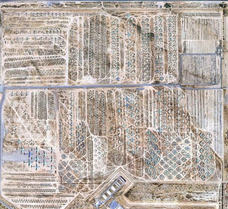 cementerio de aviones en tucson arizona