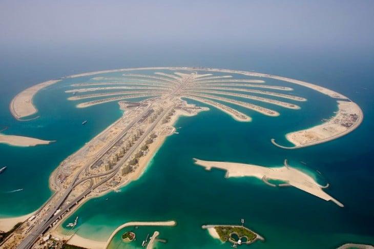 islas de Dubai creadas por la mano del hombre