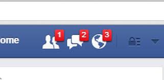 notificaciones de FB