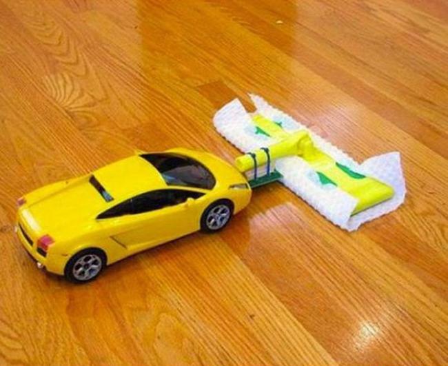 carrito limpiador de piso