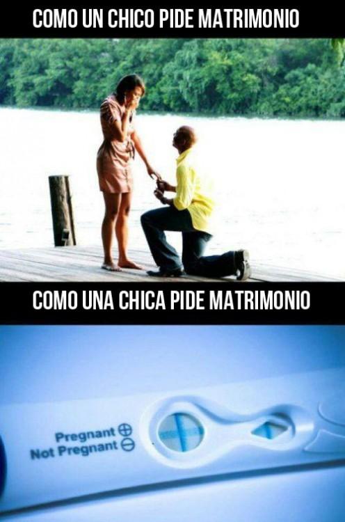 meme propuesta de matrimonio