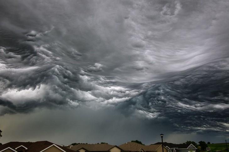 un dia nublado al parecer va a llover