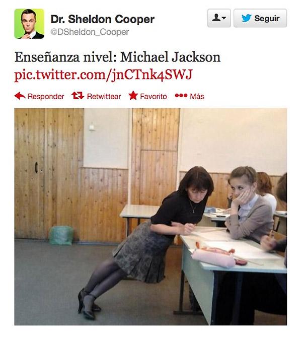 maestra estilo michael jackson