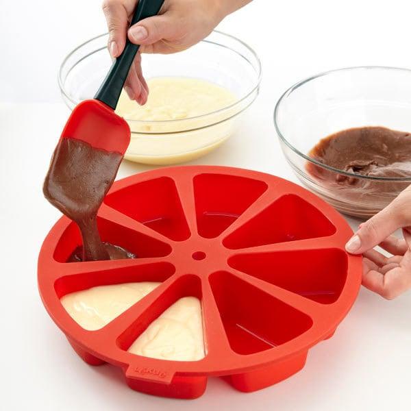 molde para pastel en rebanadas individuales