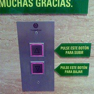 instrucciones de como utilizar el elevador