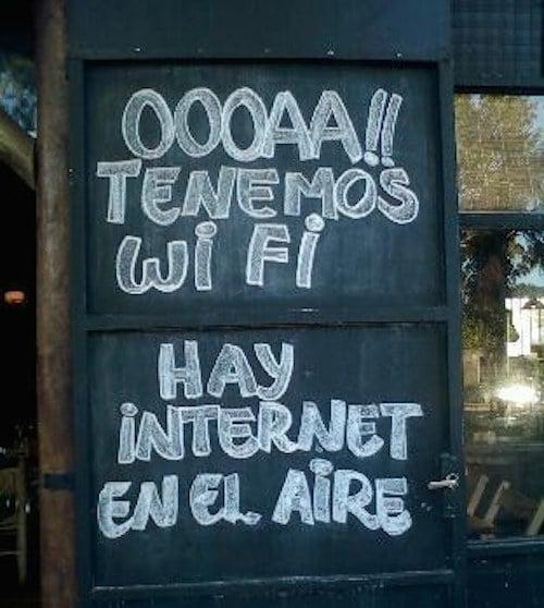 describpcion de wifi en español mal traducido