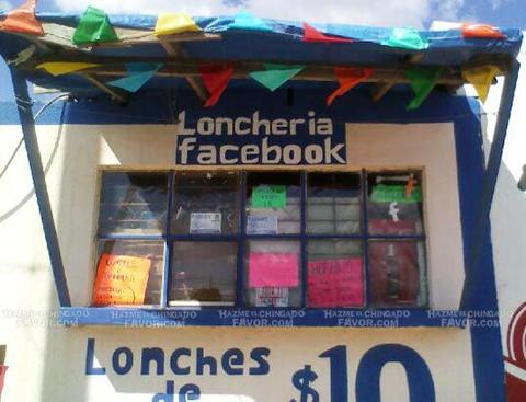 loncheria facebook en mexico