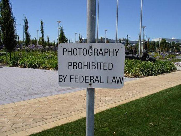 altera leyes y toma fotos