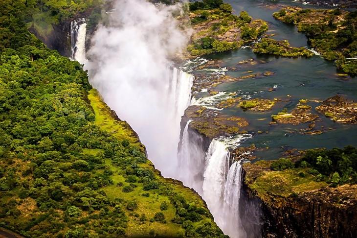 Imagen sobre las Cataratas Victoria