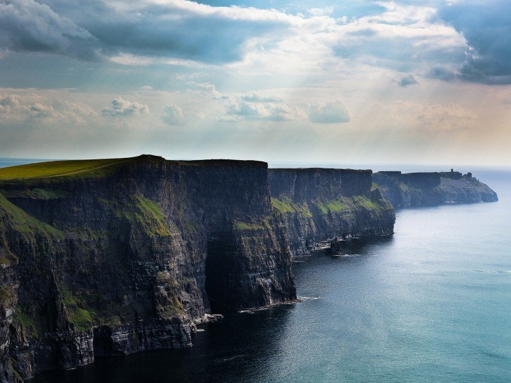 Acantilados de Moher en la República de Irlanda