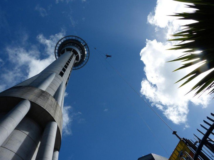 Sky tower en Auckland