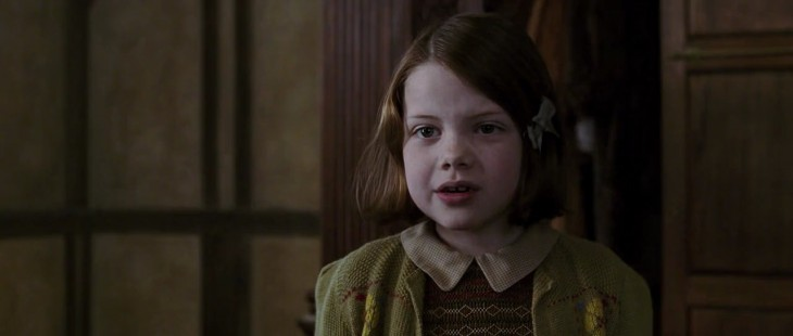 Georgie Henley en su papel de Lucy (Crónicas de Narnia)