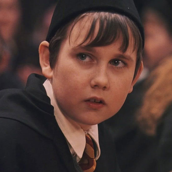 Matthew Lewis em Harry Potter