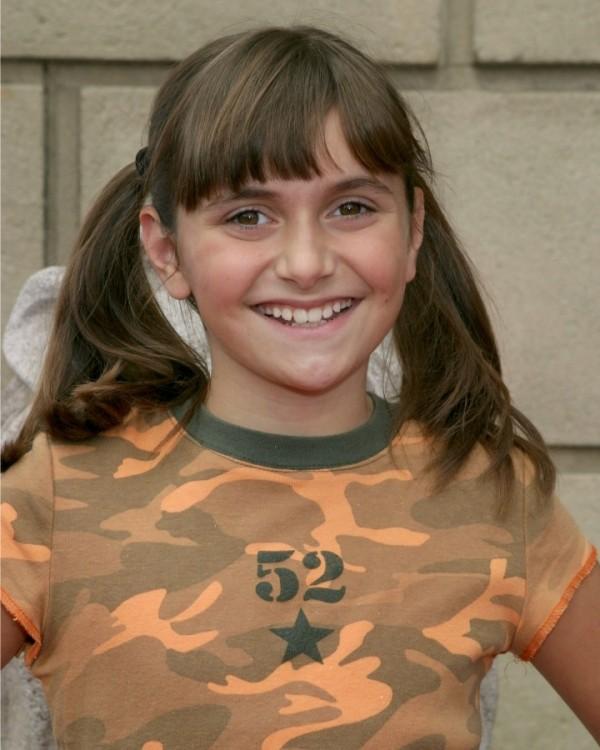 Alyson Stoner de niña