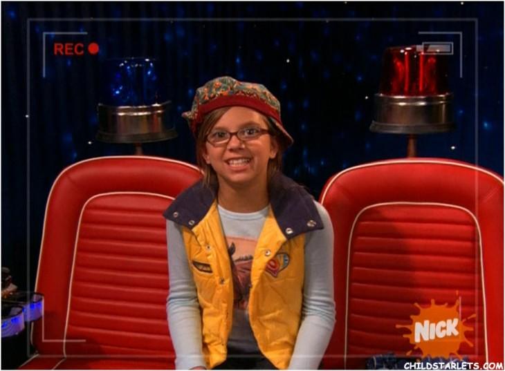 Aria Wallace en el programa iCarly