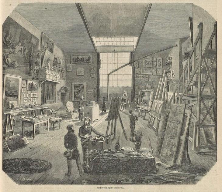 Pintura de Eugene Delacroix