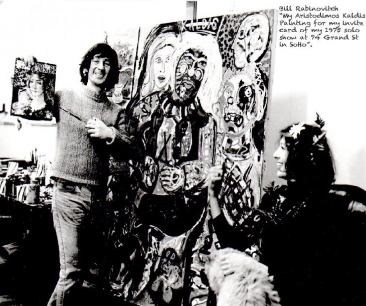 Bill Rabinovitch en su estudio