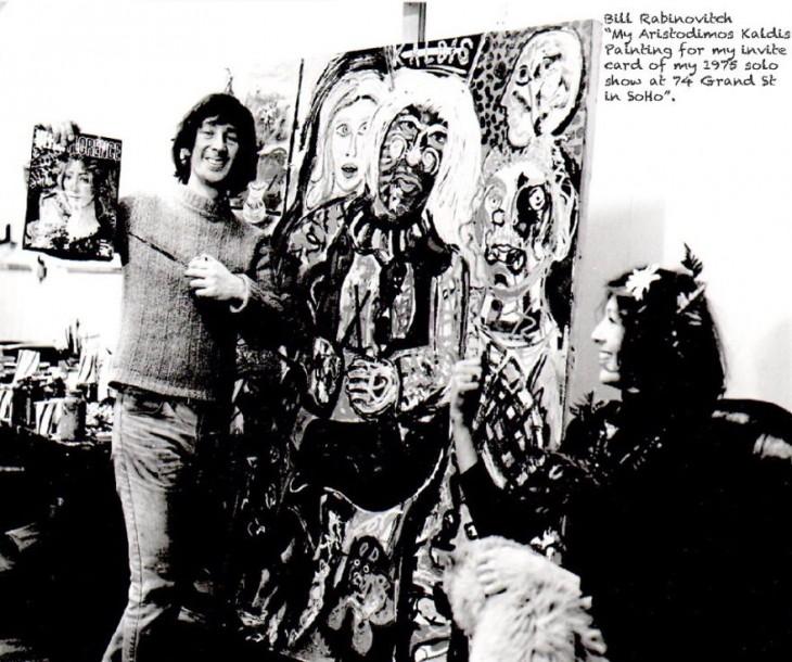 Bill Rabinovitch en su estudio