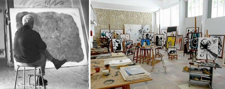 Estudio de Joan Miro