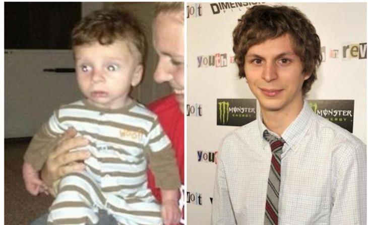 Bebé parecido a Michael Cera