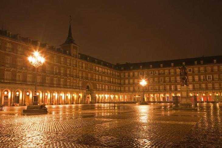 Plaza mayor en España