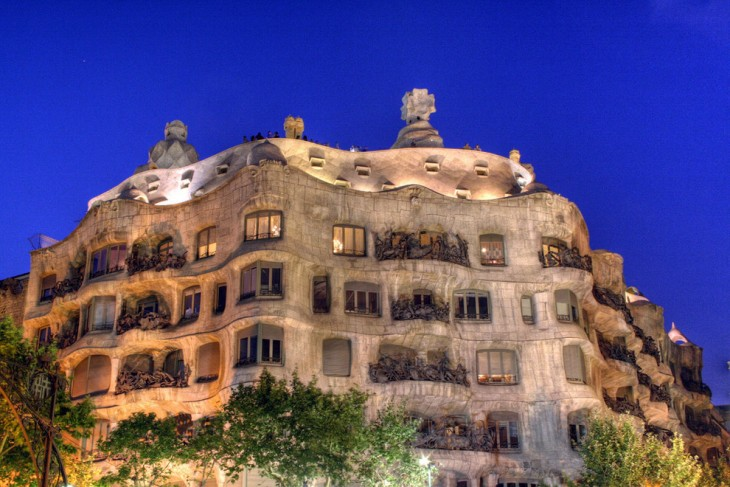 España de noche