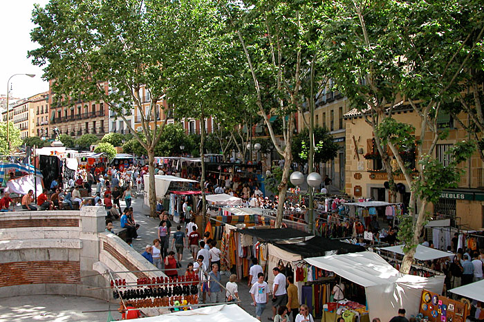 "Mercado ""el rastro"" en Madrid"