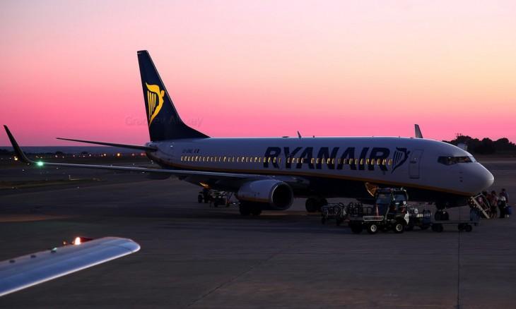 Avión en España