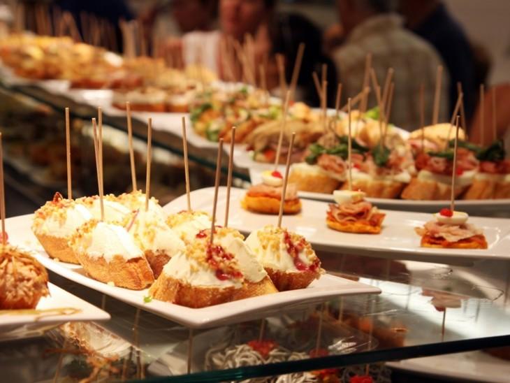 Tapas y pinchos comida típica española
