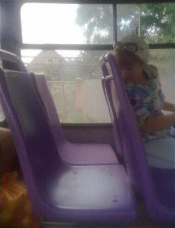 Asientos del autobús