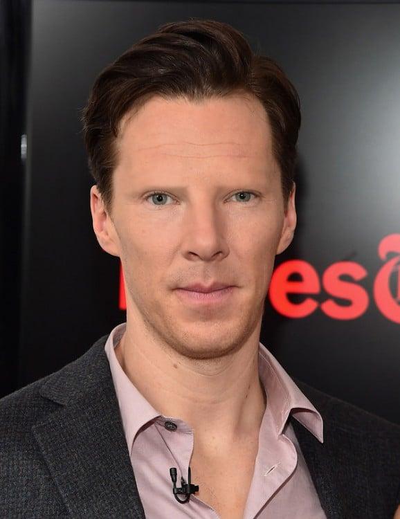 Benedict Cumberbatch sin cejas