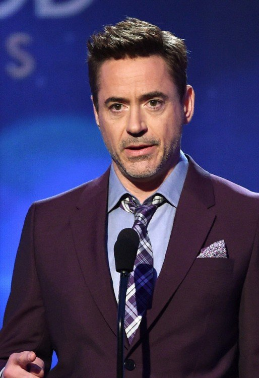 Robert Downey Jr, con cejas