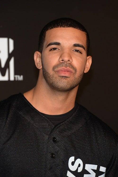 Drake con cejas