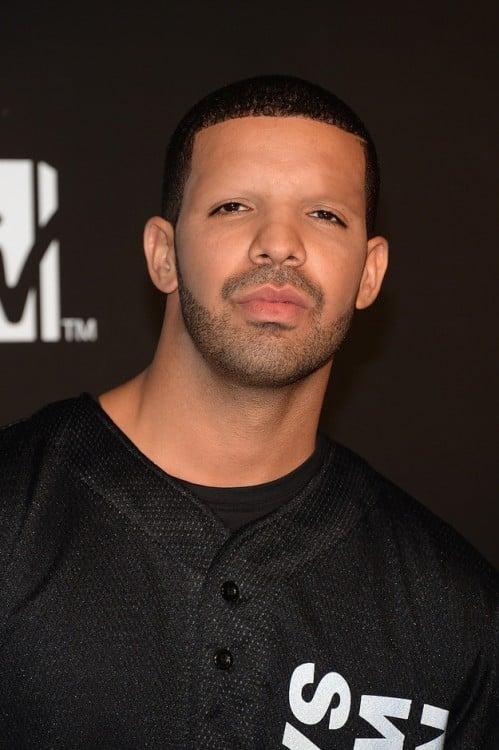 Drake sin cejas