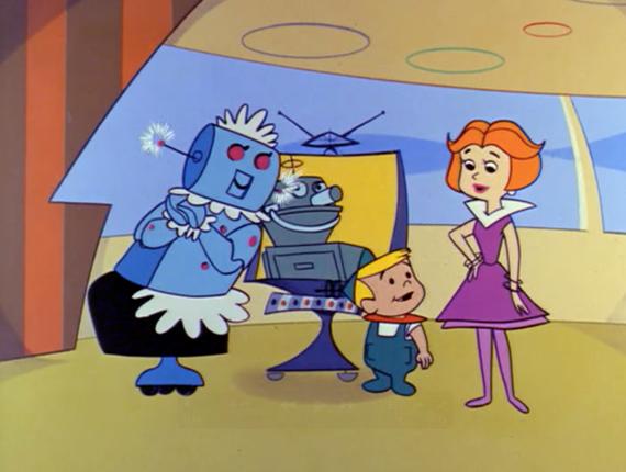 Robotina en la caricatura de supersónicos