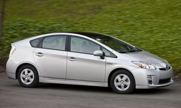 Prius Toyota en color gris