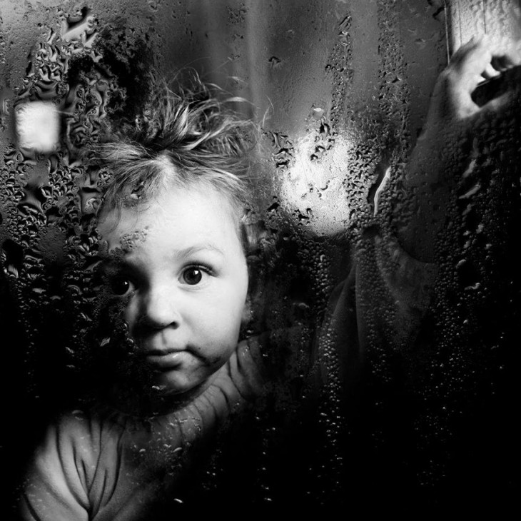 Cara de un niño