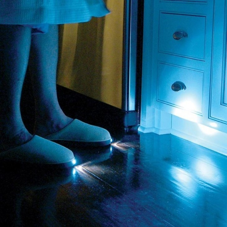 Pantuflas con lampara