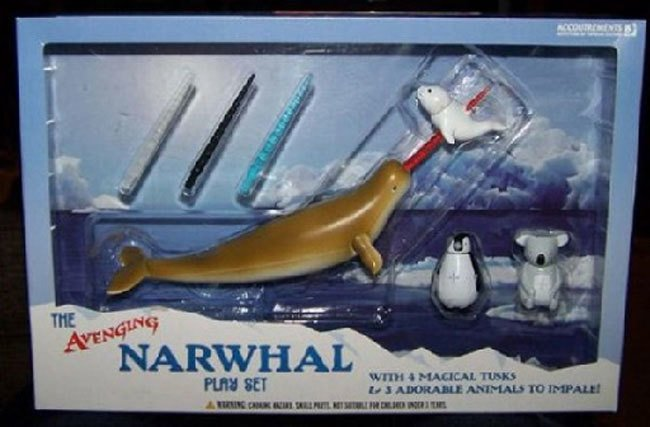 "Juguete ""The Avening Narwhal"""