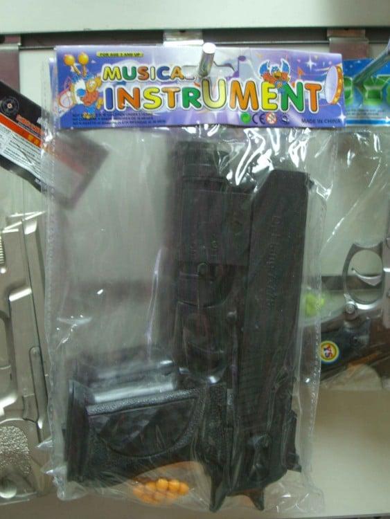 Pistola como instrumento musical