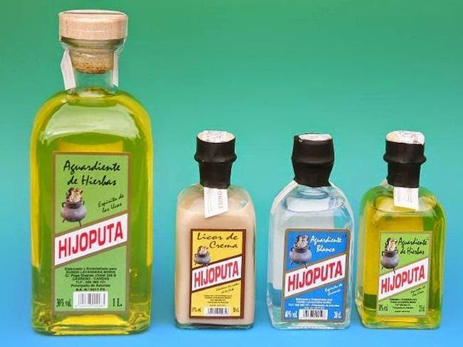 Botellas de aguardiente