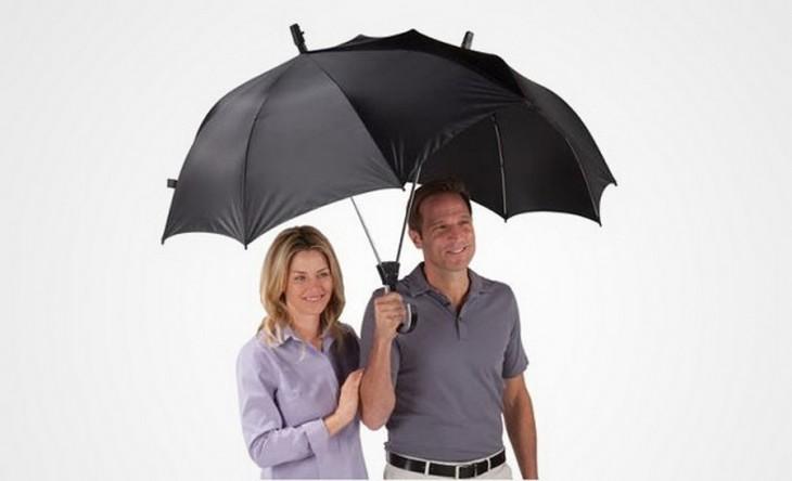 Paraguas con diseño para dos personas