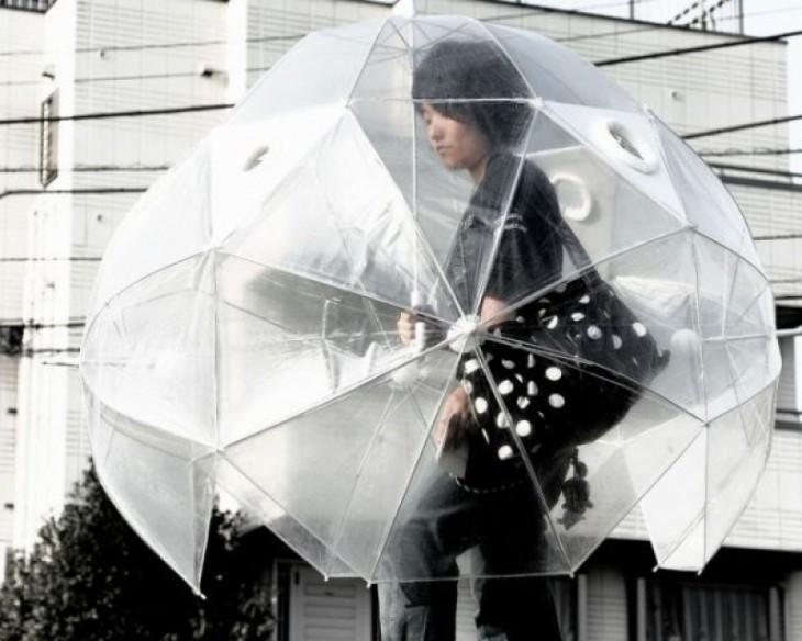 Paraguas de cuerpo completo