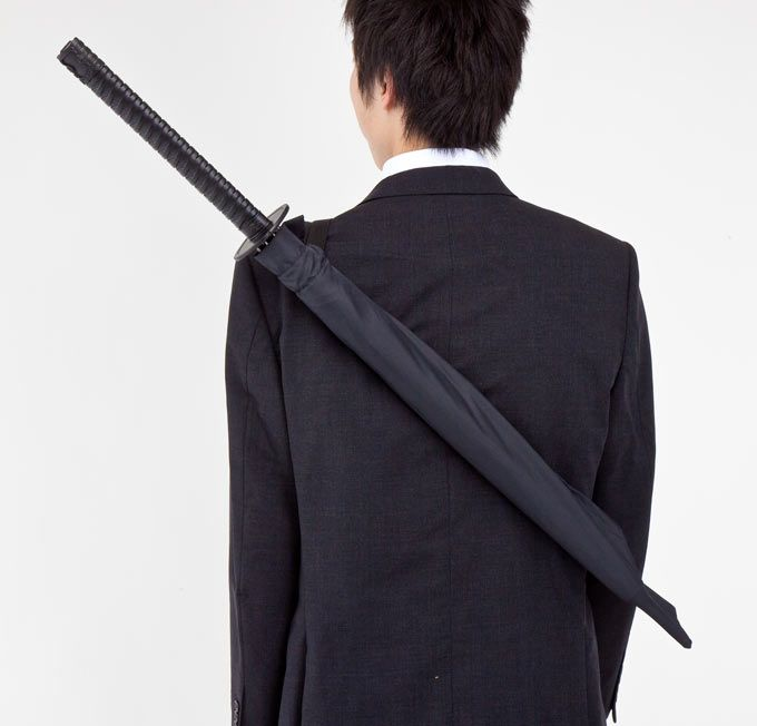 Paraguas espada samurai