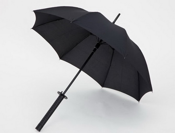 Paraguas de samurai
