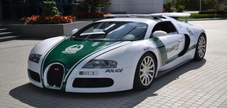 Buggatti Veyron, patrulla de Dubai