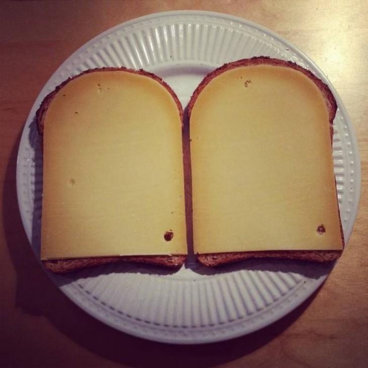 Pan y queso a la medida