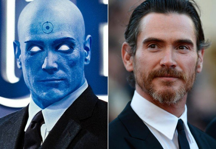 Billy Crudup interpretó al Dr. Manhattan